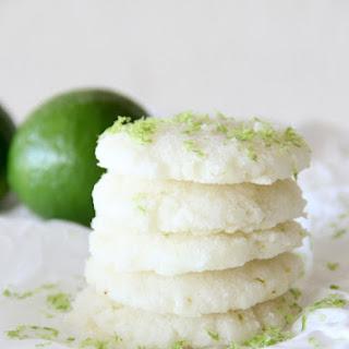 Lime Crinkle Cookies