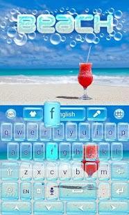 Beach-GO-Keyboard-Theme 3