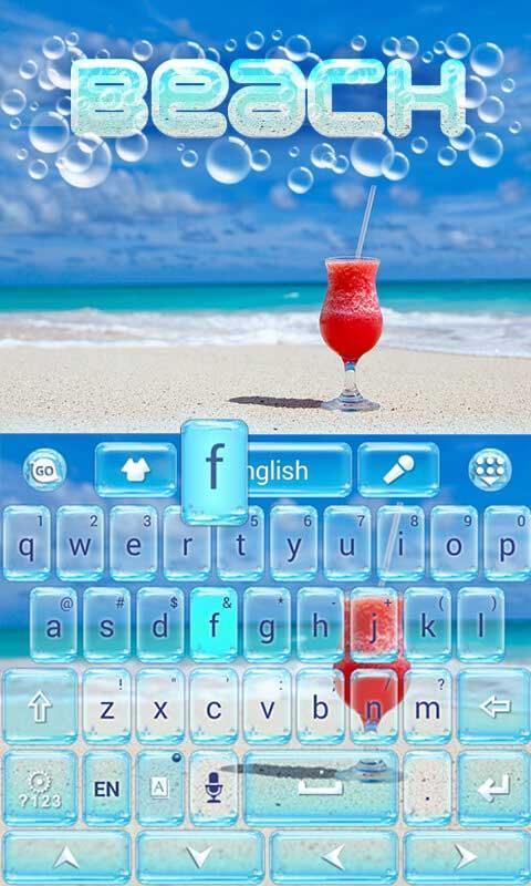 Beach-GO-Keyboard-Theme 10