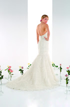 Robe de mariée Tango dos, robe de mariée sirène, robe de mariée dos nu, robe de mariage longue traine, robe de mariée sirène Paris