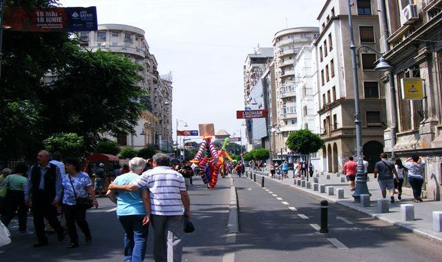 Bucharest Victoria Avenue