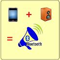 Bluetooth loudspeaker icon