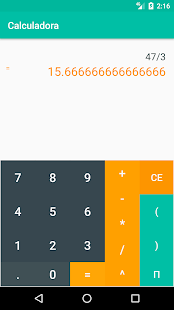 Calculadora- screenshot thumbnail