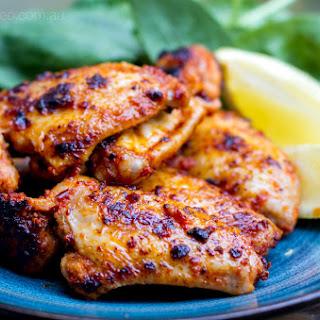 Sticky Portuguese Paleo Chicken Wings