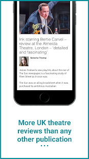 The Stage: Theatre News, Reviews and Jobs- screenshot thumbnail