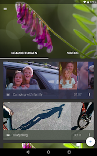 WeVideo-Videoeditor Screenshot