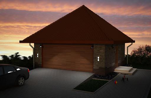 projekt Garaż G3