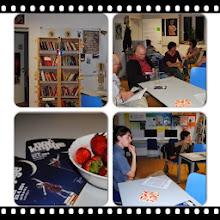 Photo: Knjižnica tete Rose predstavlja Noama Chomskega v prostorih MISC INFOPEKA, Pekarna Magdalenske mreže Maribor. (Foto Nataša Usar)