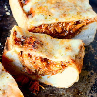 BBQ Chicken Stuffed Bread