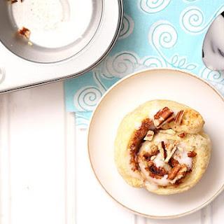 Small Batch Puff Pastry Cinnamon Rolls.