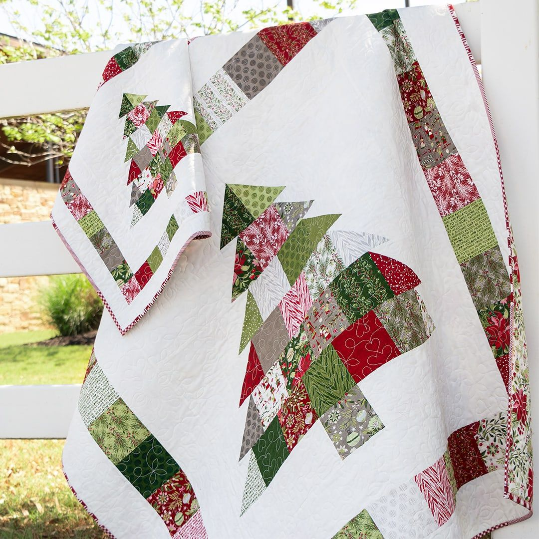 Charming Christmas Quilt