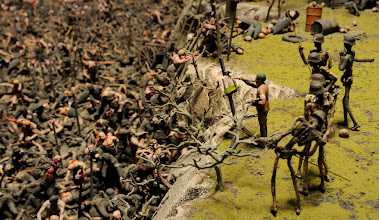 Photo: JACK ET DINOS CHAPMAN NES EN 1966 LONDRES ET 1962 A CHELTENHAM VIT LONDRESFUCKING HELL 2008 EXPOSITION MAPPING THE STUDIO LA COLLECTION FRANCOIS PINAULT EXPOSEE PAR PALAZZO GRASSI DIRIGE PAR MONIQUE VAUTE A PARTIR DU 6 JUIN 2009 AU PALAZZO GRASSI ET A LA POINTE DE LA DOUANE RESTAUREE ET CONCU PAR TADAO ANDO ELLE OUVRE POUR LA PREMIERE FOIS. COMMISSAIRES DE L'EXPOSITION ALISON M. GINGERAS ET FRANCESCO BONAMI