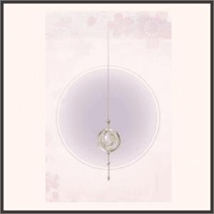 浮かぶ月球儀