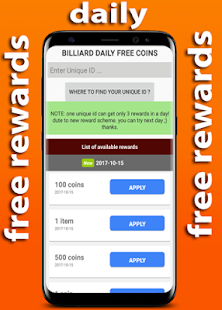 8 Pool Daily Rewards Free - náhled
