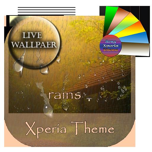 rains | Xperia™ Theme