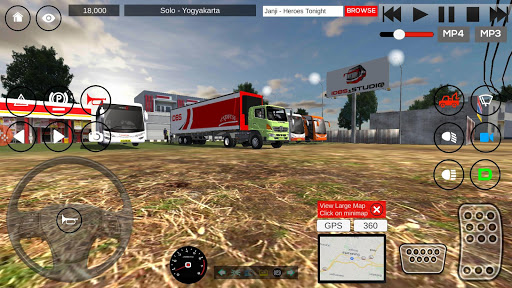 IDBS Indonesia Truck Simulator 3.1 screenshots 1