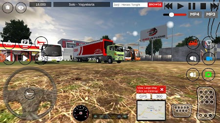 IDBS Indonesia Truck Simulator APK screenshot thumbnail 1