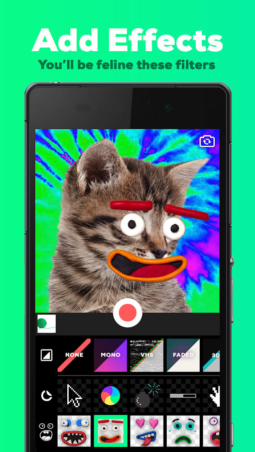 GIPHY CAM - The GIF Camera & GIF Maker- screenshot