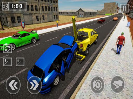 Crazy Tow truck 2020: 3D Euro Driving Simulator  screenshots 9