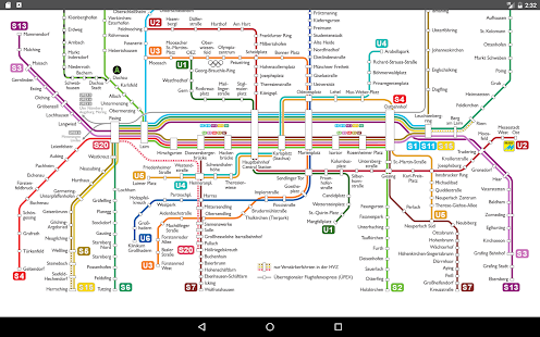 Munich Metro Map 2017 Apps on Google Play