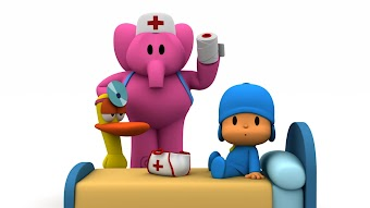 Pocoyo Learn About New Professions