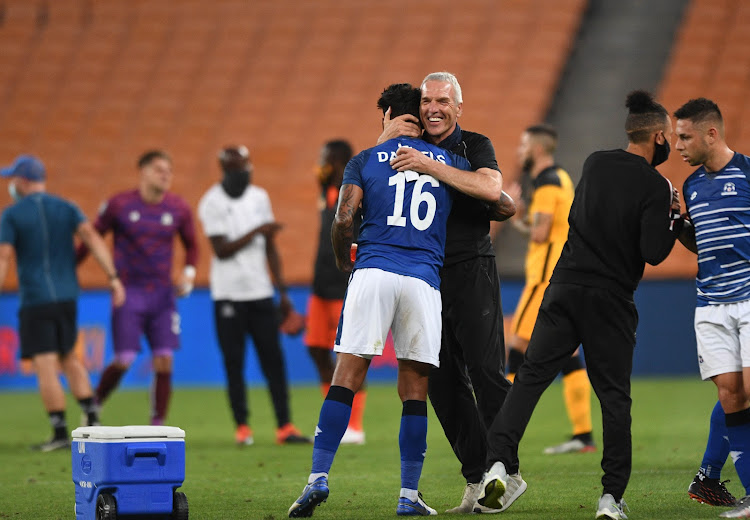 Ernst Middendorp has said his only mission is to ensure Maritzburg United retain their DStv Premiership status.
