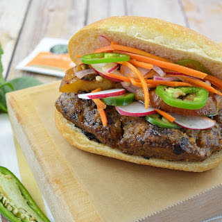 Oolong Banh Mi Burger [Vegan]