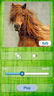 Jigsaw Puzzles Horses - náhled