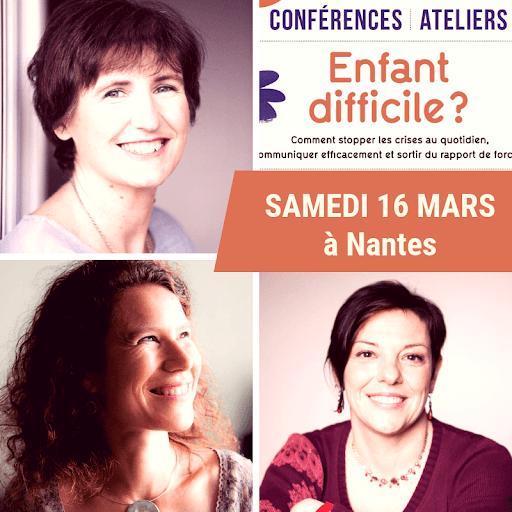 Conférence et ateliers pratiques à Nantes samedi 16 mars 2019