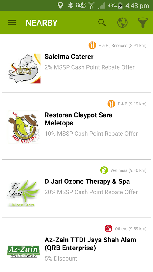 MyKad Smart Shopper Discover- screenshot