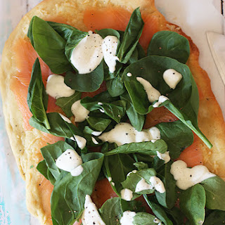 Smoked Salmon Pizza Recipe