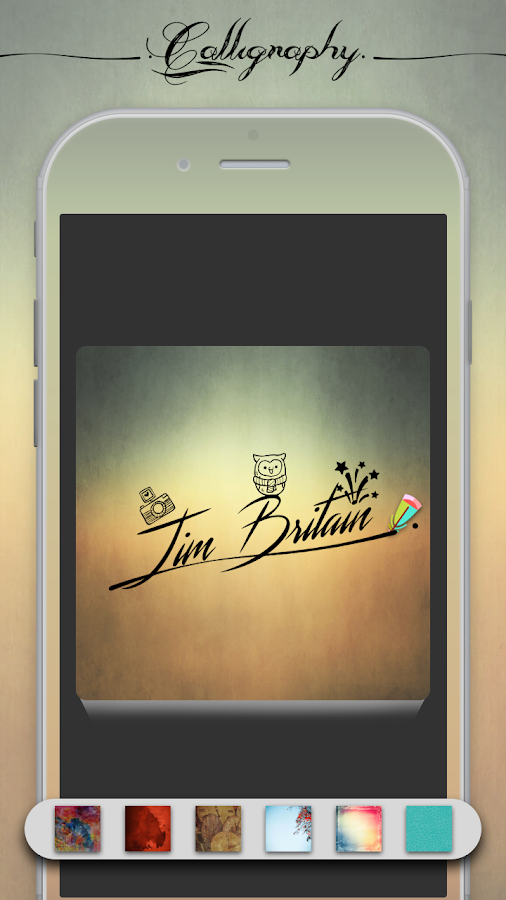 Calligraphy name android apps on google play
