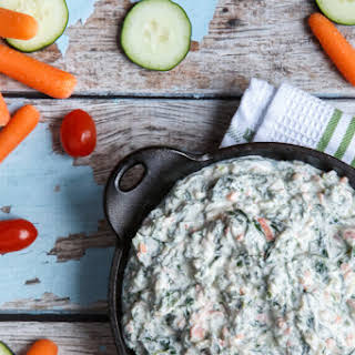 Trader Joe's Copycat Spinach and Kale Greek Yogurt Dip.