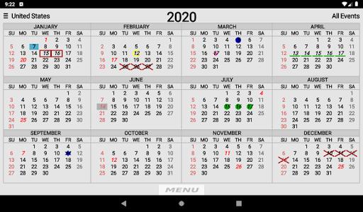 Wallet Calendar screenshots 11