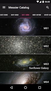 Messier Objects- screenshot thumbnail