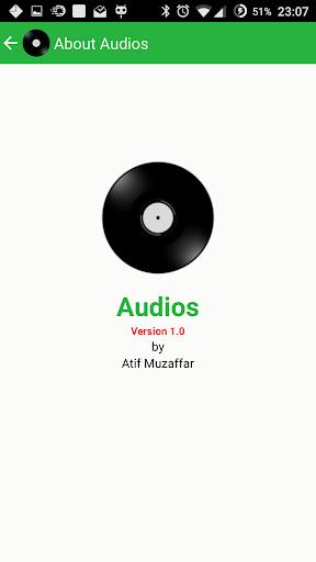 Audios - Indo Pak Music App