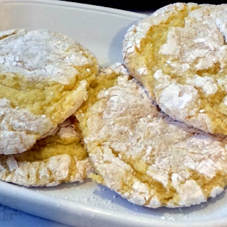 Lemony Cool Lemon Bar Cookies
