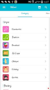 HiFont - Cool Font Text Free- screenshot thumbnail