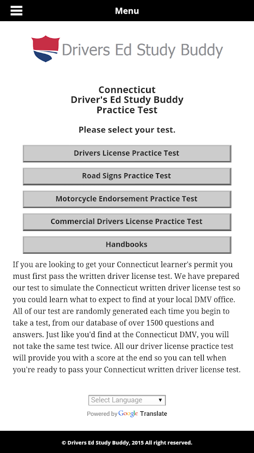 ... connecticut driver license test provides unlimited free driver license