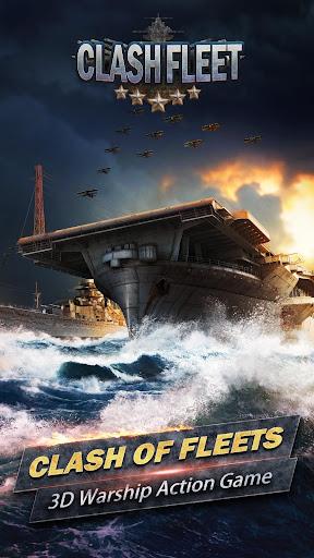 Clash Fleet[10 vs 10 real-time fleet battles]  captures d'écran 1