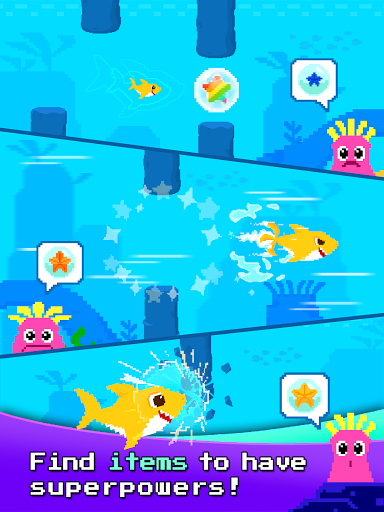 Baby Shark 8BIT : Finding Friends 1.0 screenshots 12