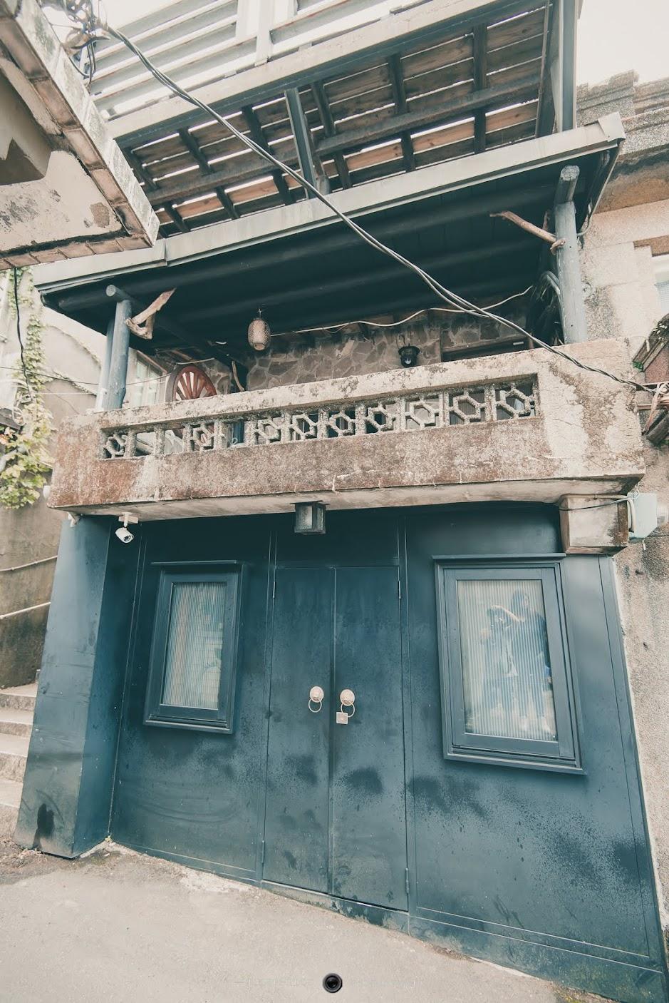 山居-夾腳拖的家民宿外觀很簡樸,是以老屋改建的民宿。