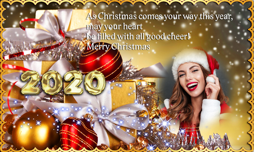 Christmas This Year 2020 2020 Christmas New Year Greetings Photo Frames   Apps on