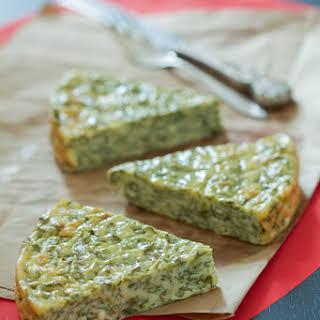 No Crust Spinach and Cheese Pie (Uljevak od Špinata).