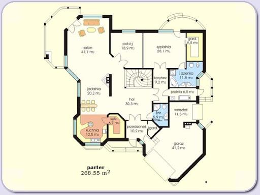 Chryzolit 3 - Rzut piętra