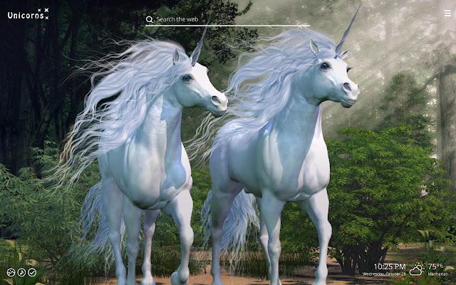 Unicorns magic horse hd wallpaper chrome web store thecheapjerseys Choice Image
