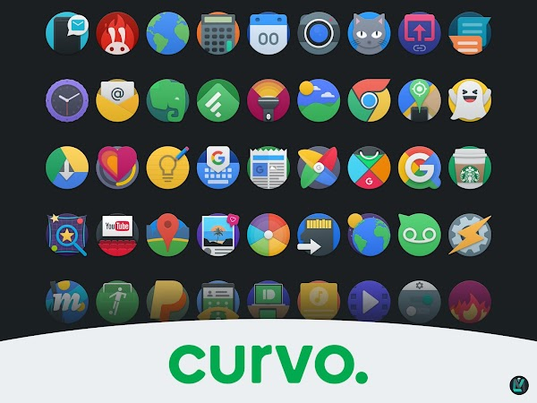curvo. iconpack (BETA) v0.3