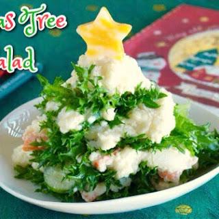 Christmas Tree Salad.