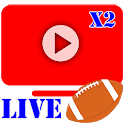 Football NCAAF AAF and NFL Live Streaming icon