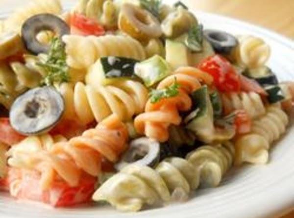 Confetti Pasta Salad Recipe